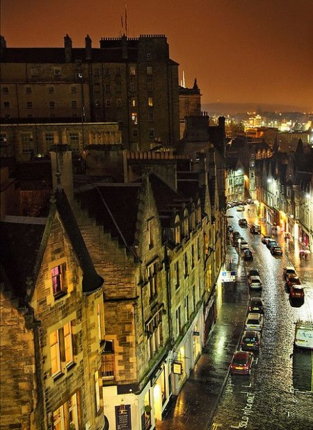 streets of edinburgh travel edinburgh backpacker