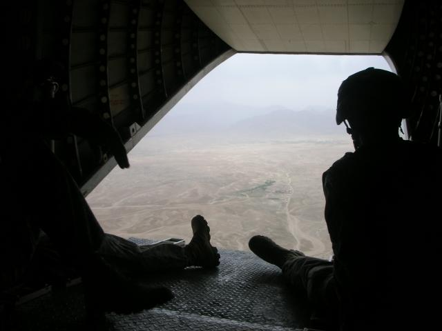 Picture of the Day: Afghanistan From A Helicopter