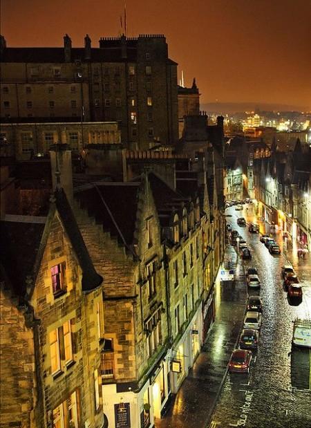 streets of edinburgh travel edinburgh backpacker